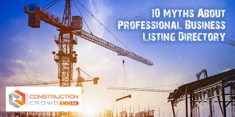 10 Myths About Professional Business Listing Directory